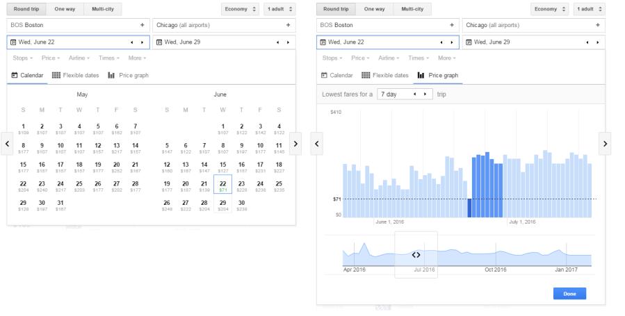 Google Flights Combined