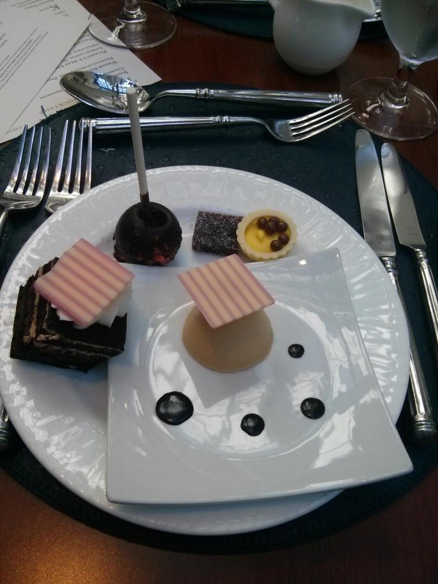 Artsy chocolates